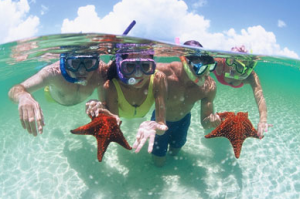 Family Vacation in Bahamas- Snorkeling